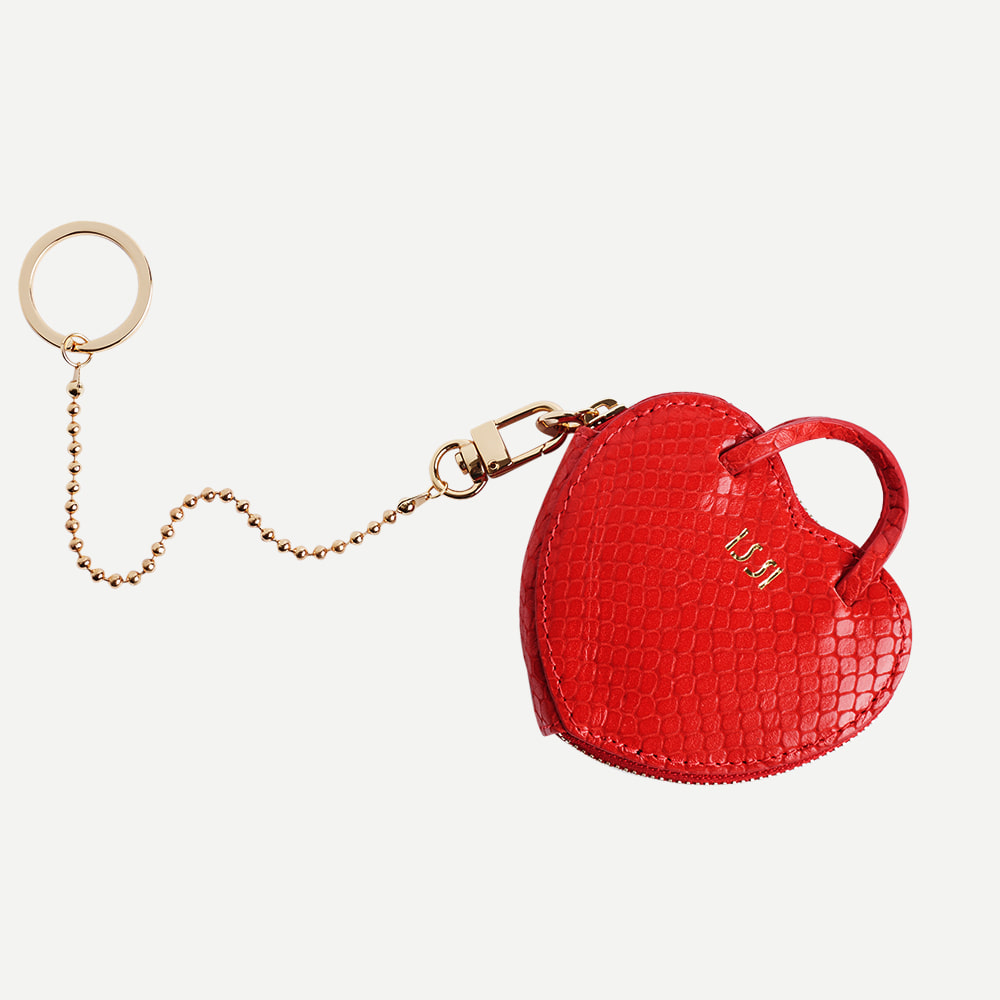 Amour Keyring, Red