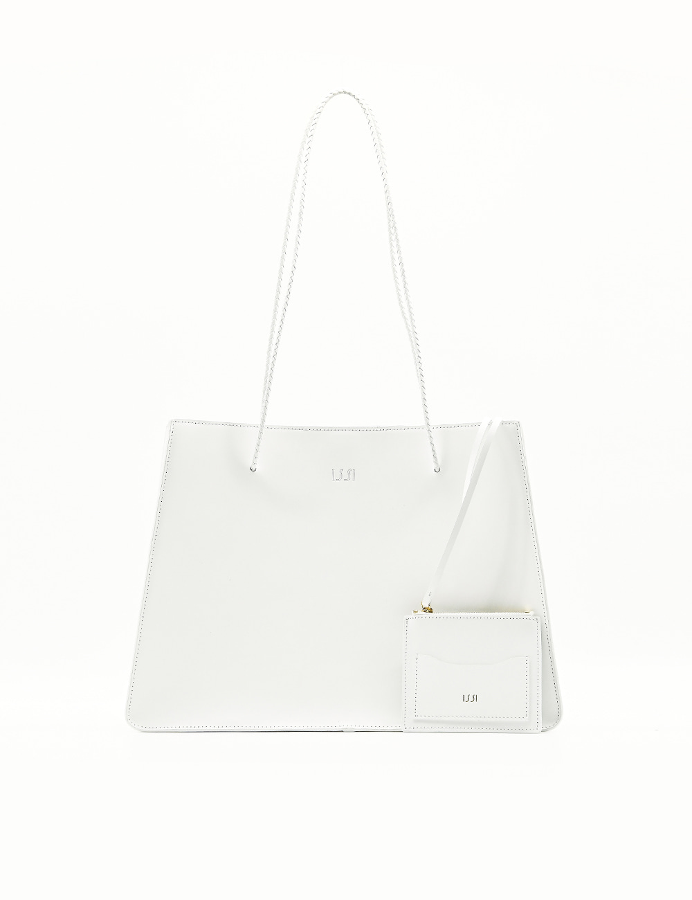 Carre Bag, White