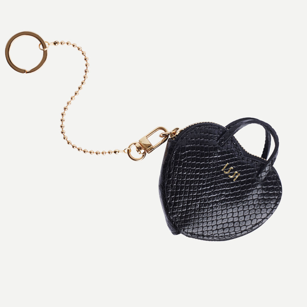 Amour Keyring, Black