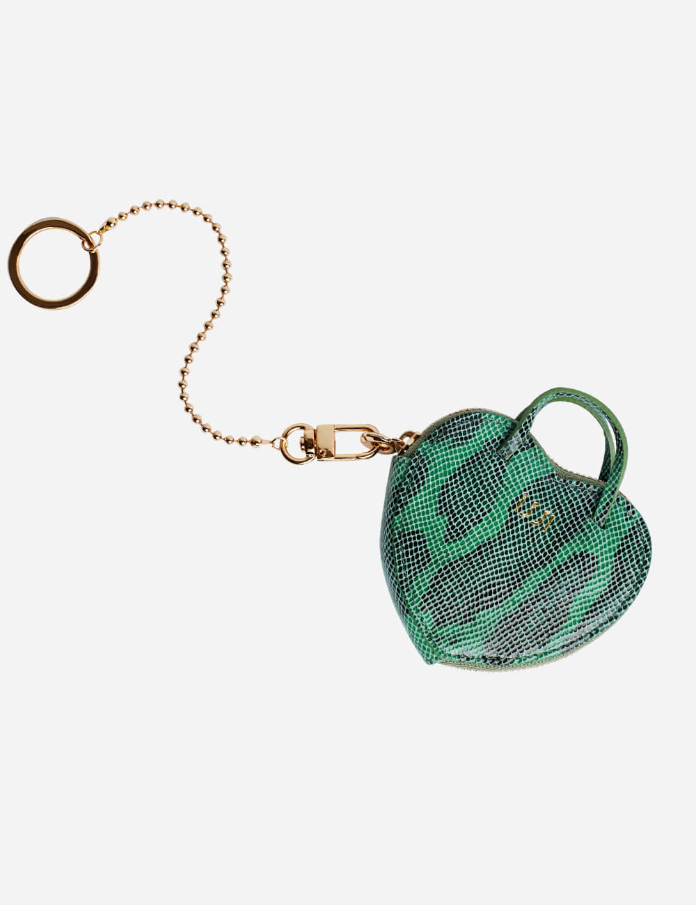 Amour Keyring, Green