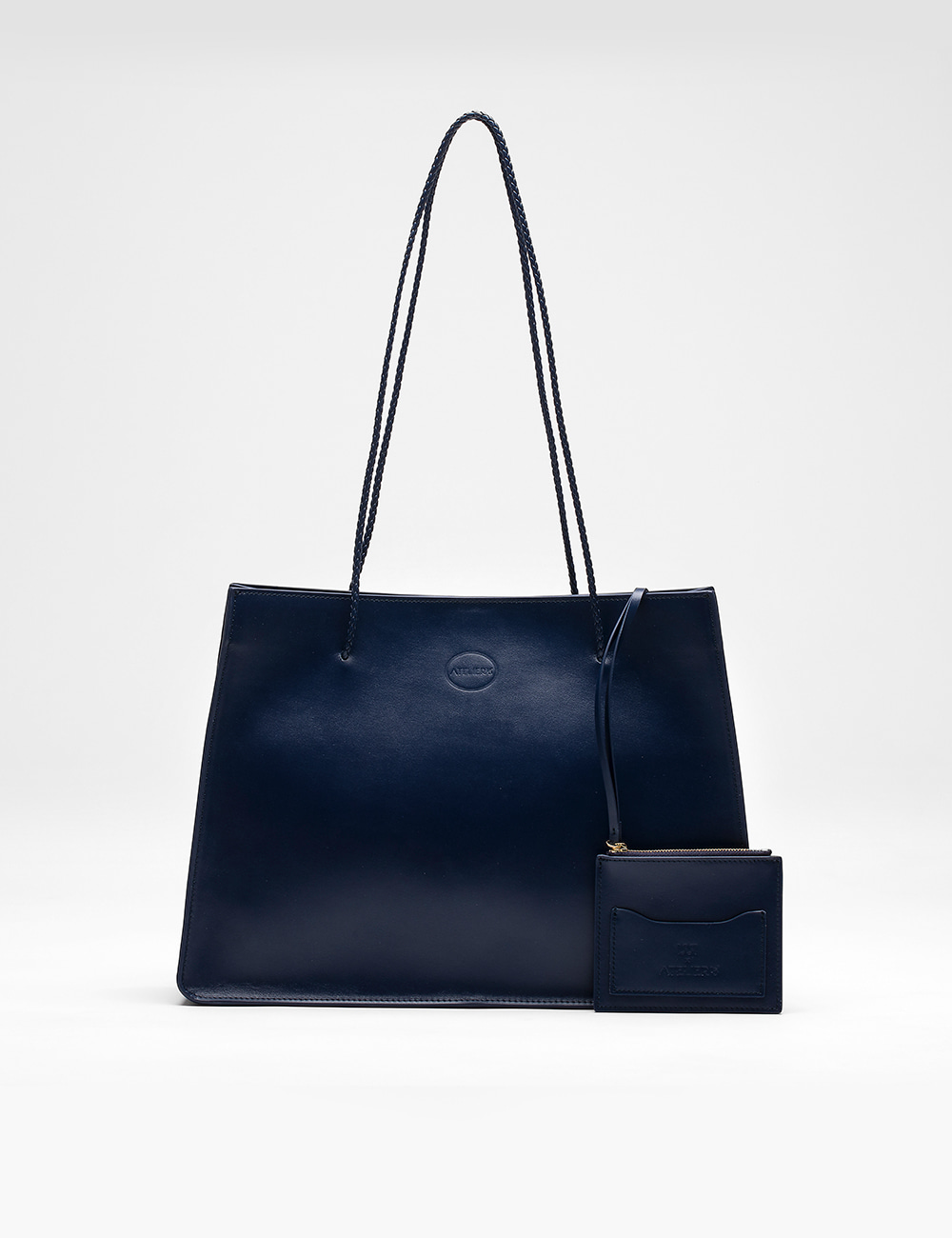 [ATELIER 15ent X ISSI]Carre Bag, Paris Navy